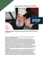 L'apport de la tradition islamique à l'Occident et le dialogue
