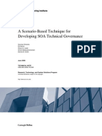 A Scenario-Based Technique for Developing SOA Technical Governance
