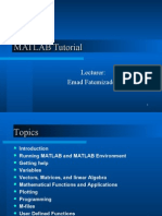 02 Matlab Tutorial