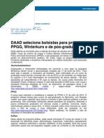 Ufc - Cca - Edital Daad 2012
