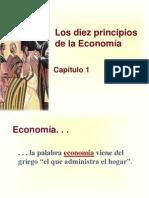 Principios de Economía, Mankiw Capítulo 1; Los diez principios de la Economía