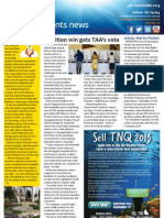 Business Events News for Mon 09 Sep 2013 - Coalition win gets TAA\'s vote, PCOs experience Insider\'s Fiji, Rendezvous Sydney showcase, Accor Lounges around and much more