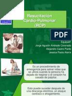 Resucitación Cardio Pulmonar (RCP)