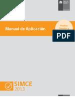 Manual Aplicacion Regular SIMCE 2013