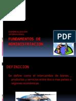 Fundamentos de Administrtacion Comercializacion Internacional