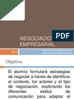 1. Negociación empresarial 10C