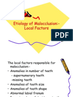 59350645 Etiology of Malocclusion Local Factors