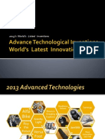 Advance Technological Inventions