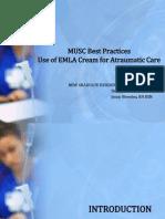 Emla Cream for Atraumatic Care