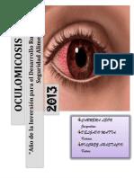 Trabajo de Oculomicosis