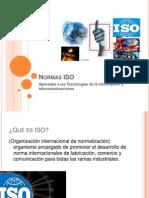 Normas ISO Telecomunicaciones