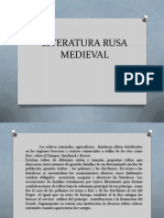 Literatura Rusa Medieval