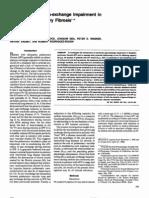 mechanisms of Gas-exchange Impairment in Idiopathic Pulmonary Fibrosis