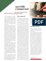 Siseco - misura il ROI del VoIP nel Contact Center