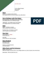 History of Jazz - LQ3 Study