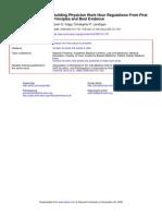 Volpp and Landrigan - JAMA 2008 - Building Evidence Based Work Schedules