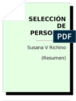Richino Susana - Seleccion de Personal