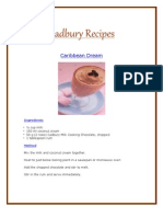 Cadbury Chocolate Recipes Scribd 4