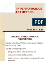 Liquidity Performance Measures
