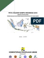 Peta Gempa Indonesia 2010