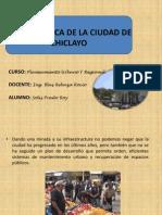 Problematica de La Ciudad de Chiclayo
