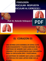 FISIOLOGÍA CARDIOVASCULAR-RESPUESTA CARDIOVASCULAR AL EJERCICIO I.pptx