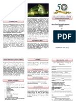 Brochure of STTP RM and DOE