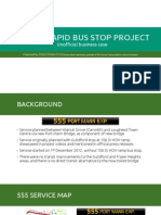 156th St Rapid Bus Stop Project