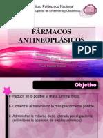 FÁRMACOS ANTINEOPLÁSICOS
