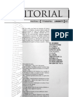 Fasciculo Editorial 2011