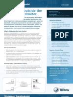 Websense DLP Endpoint datasheet