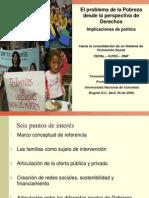 Pobreza y Derechos Sociales