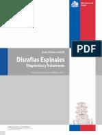 Lectura post Guía clinica Minsal. Disrrafias espinales