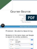 Course Source Final Presentation