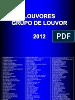 coletânea - louvores gl 2012