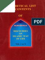 DiscoursesOnIslamicWaysOfLife Contents ByShaykhMuftiTaqiUsmani