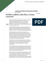 Posible Conflicto Ruz Juez Concursal Expansion Sala Serra Abogados