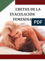 Secretos de La Eyaculacion Femenina