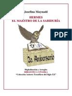 Maynade Josefina - Hermes El Maestro de La Sabiduria