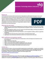 Information and Communication Technology Adviser