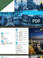 12 Nights Europe Tour Itinerary