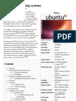 Ubuntu (Operating System) - Wikipedia, The Free Encyclopedia1