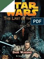 Star Wars - UdlJ 02 - Advertencia Oscura