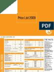 2009-Pricelist