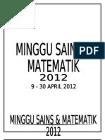Kertas Kerja Sn Dan Math 2012