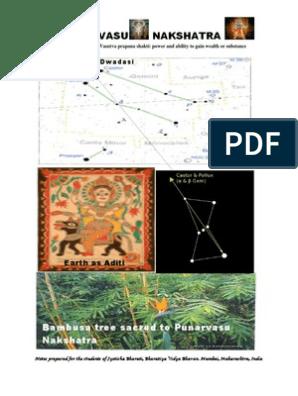 PUNARVASU NAKSHATRA | Hindu Astrology | Religion And Belief