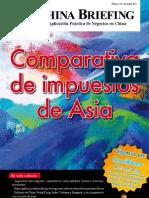 Comparativa de impuestos de Asia (CB 2011/12)