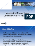 Mechanical Properties of Laminated Glass