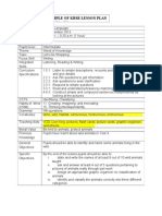 2013 - Template of a KBSR LessonPlan