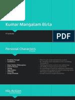 Kumar Mangalam Birla Business Leadership Case Summary